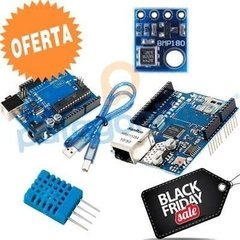 Kit Iot Arduino Uno + Ethernet Shield + Dht11 + Bmp180 KIT014 - comprar online