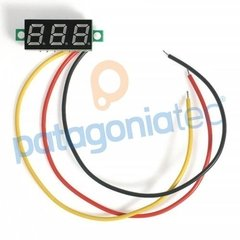 Mini Voltimetro Digital De Panel De 0 A 100 Vdc - comprar online