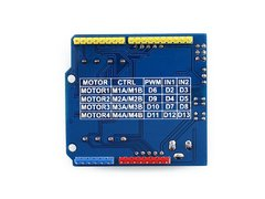 Motor Shield L293d Doble Puente H - PatagoniaTec Electronica