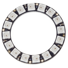 Anillo 16 Leds Rgb 5050 Ws2812 Neopixel - PatagoniaTec Electronica
