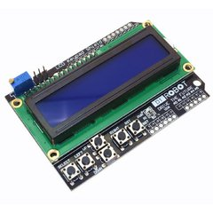 lcd Shield con Botonera 16x02