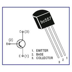 Transistor Bc557 To92 - PatagoniaTec Electronica