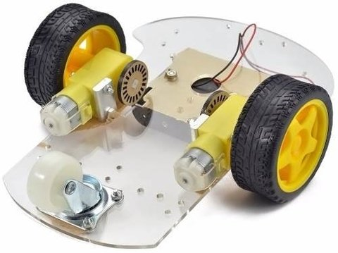 Kit Robot 2wd Rover en internet