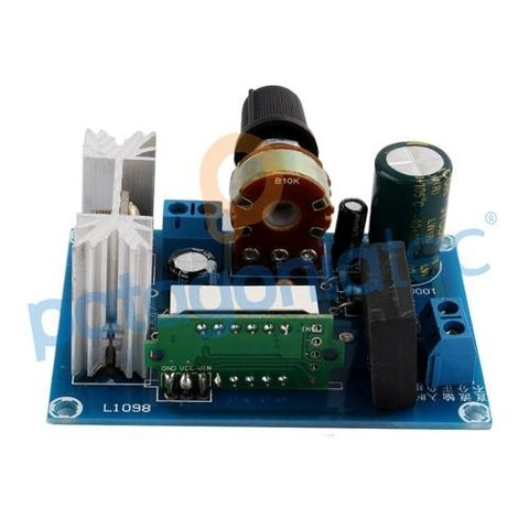 Fuente Lineal Regulada Voltimetro Lm317 Ac Dc Ptec - PatagoniaTec Electronica