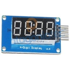 Modulo Display 7 Segmentos 4 Digitos Tm1637 - comprar online