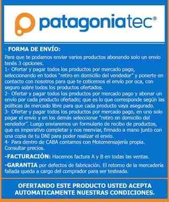 Pack Diodo Rectificador 1a 1000v 1n4007 X 10 Unidades   - PatagoniaTec Electronica