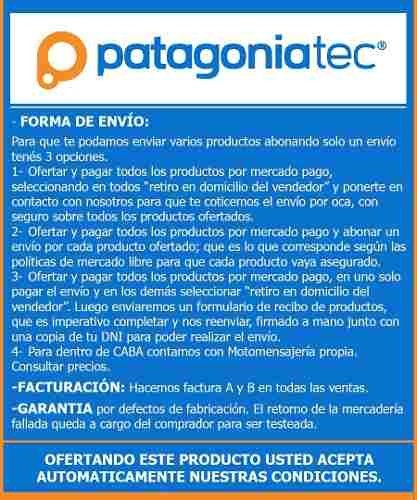 Pack Diodo Rectificador 1a 1000v 1n4007 X 10 Unidades Ptec - PatagoniaTec Electronica