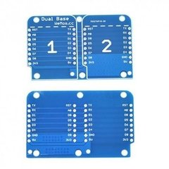 Imagen de Base Dual Shield Para Wemos D1 Mini
