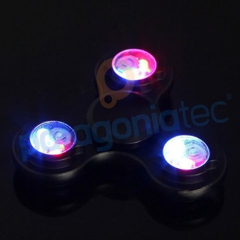 Fidget Spinner Hand Spinner Led Luces Original En Caja Ptec - PatagoniaTec Electronica