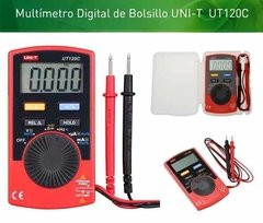 Multímetro Digital Uni-t Ut120C Portable De Bolsillo