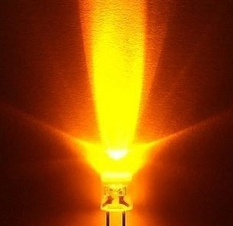 Led Naranja 5mm Alto Brillo - comprar online