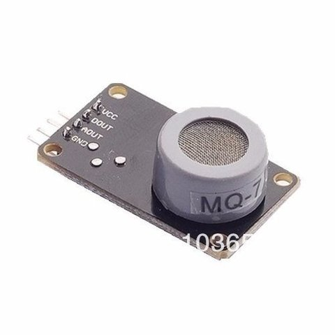 Mq7 Co H2 Lpg Ch4 Sensor Gas Alcohol Arduino Ptec