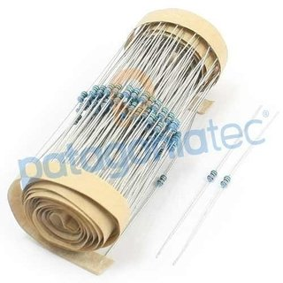 100r Resistencia 1% 1/8w Metal Film E24 Dip 100ohm Ptec on internet