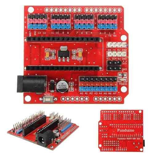 Arduino Nano Shield Pro Expancion Ideal Para Conexiones Ptec - buy online