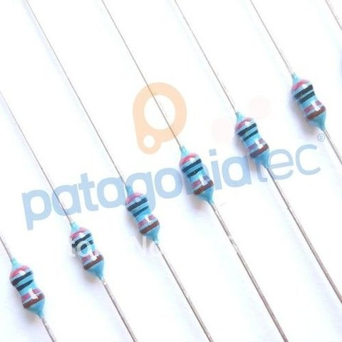 20r Resistencia 1% 1/8w Metal Film E24 Dip 20ohm Ptec on internet