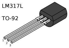 Regulador Ajustable Lm317lz Lm317 To92