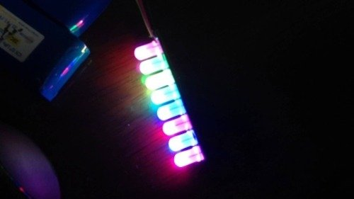 Pl9823 F5 Pixel Led Rgb 5mm Difuso Programable     - comprar online
