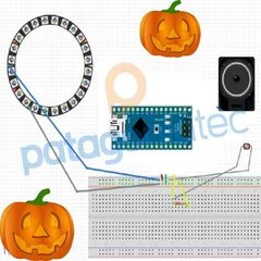 Kit Halloween Arduino Nano