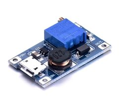 Fuente Switching Step Up Mt3608 2a Dc Dc Con MICRO USB