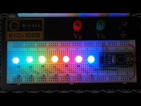 Pl9823 F5 Pixel Led Rgb 5mm Difuso Programable