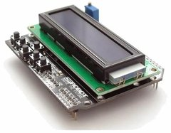 Pack 10u Lcd 16002 16x2 Shield Arduino 6 Botones Ptec - PatagoniaTec Electronica
