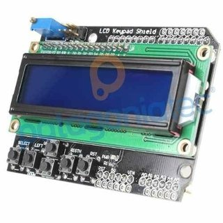 Lcd Shield + Botonera 16x02