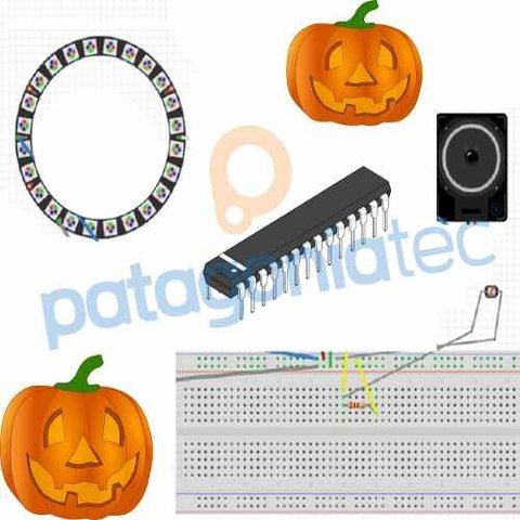 Kit Halloween con Atmega328