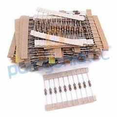 Pack 370 Resistencias 5% 1/4w
