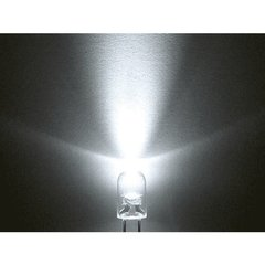 Led Intermitente Blanco 5mm Alto Brillo - comprar online