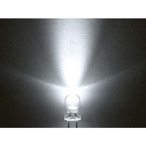 Led Intermitente Blanco 5mm Alto Brillo - buy online