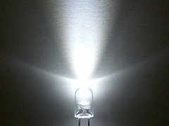 Led Blanco Frio 5mm Alto Brillo - comprar online