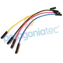 Kit 20 Cables 20cm Protoboard Arduino Hembra Hembra - PatagoniaTec Electronica