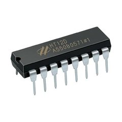 Pack HT12e + HT12d Circuito codificador y decodificador en internet