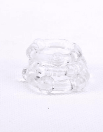 Anillo peneano Beaded Cock Rings Clear sex shop