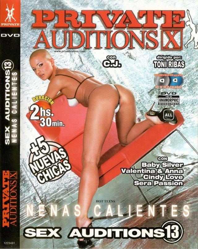 dvd porn Private Auditions X - Sex Auditions 13 - Nenas calientes