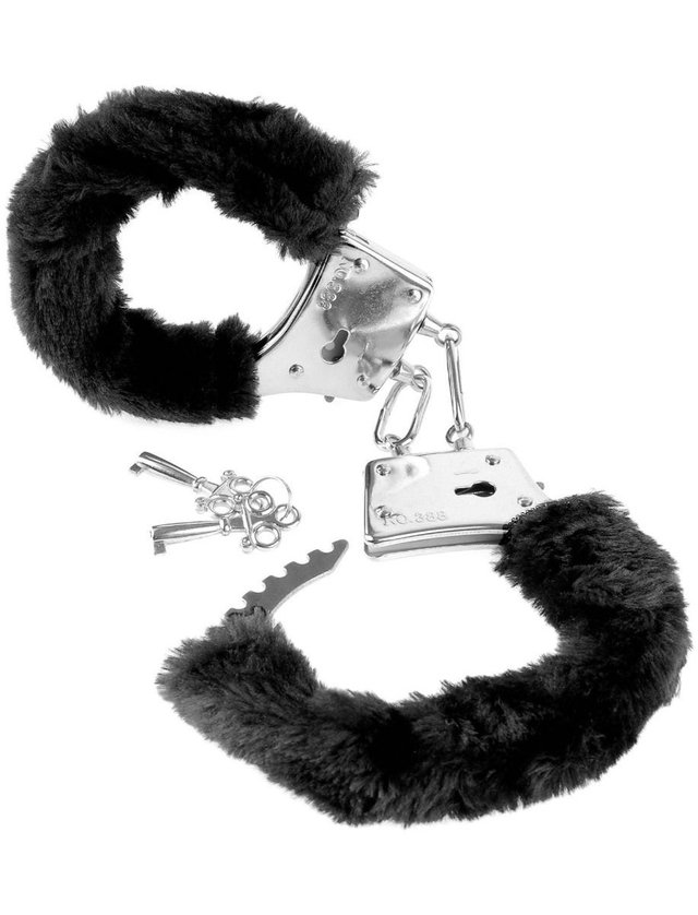 Esposas peluche Fetish Furry Cuffs - PD 3800-19 - comprar online