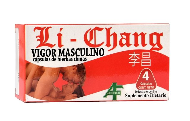 Vigorizante masculino Li Chang Sex Shop Baires