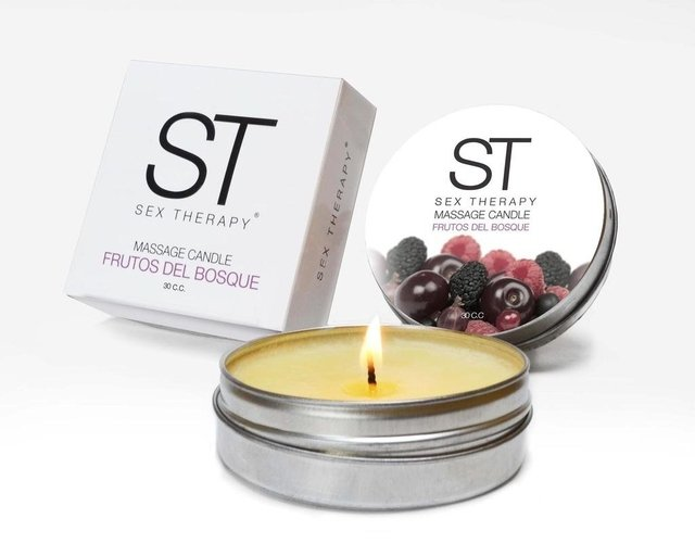 Vela Massage candle ST aroma frutos del bosque