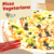 Pizza Vegetariana - Pizzaria Italianittos