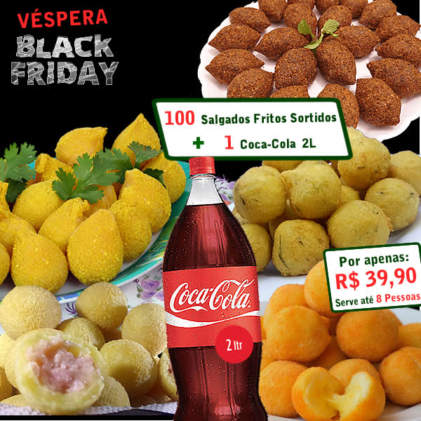 É a Hora do Lanche Véspera Black Friday