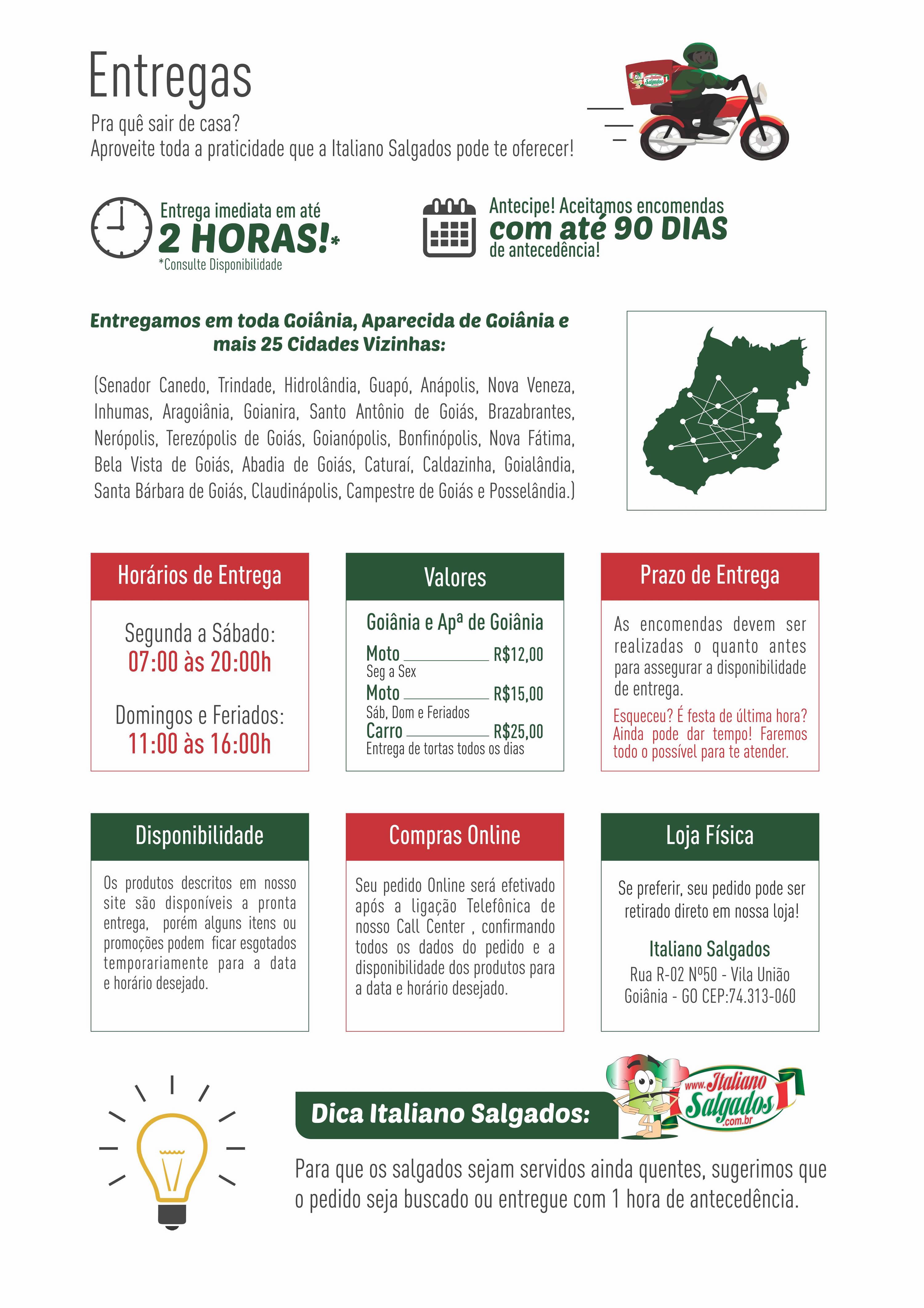c086b42e0 Loja online de Italiano Salgados - Goiânia - Entregas