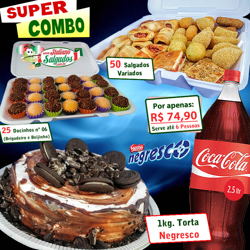 Super Combo Torta Negresco