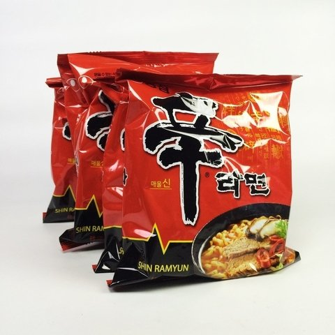 Shin Fideos Instantaneos 5 Pack