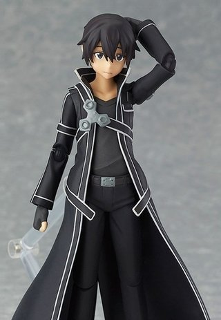 Action Figure Kirito na internet