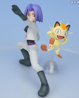 Figure Jesse + Woobbufet // James + Meowth - loja online