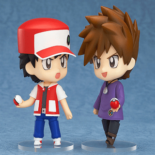 Nendoroid Red, Green e Mew