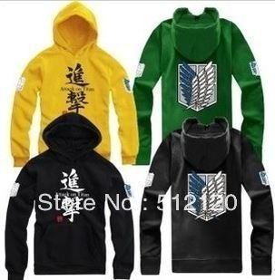 Jaqueta Hoodie Attack on Titan