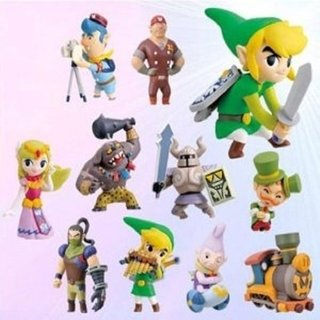 Kit Personagens Legend of Zelda
