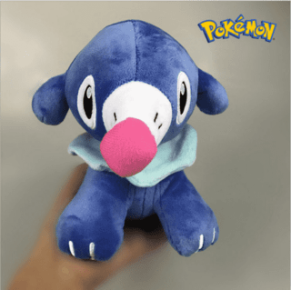 Pelúcia Rowlet, Popplio e Litten - Pokeshop