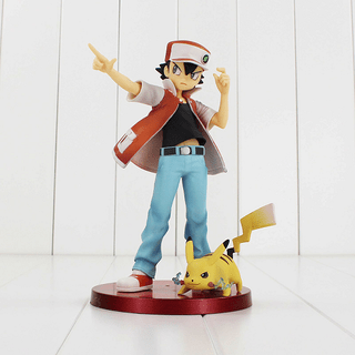 Figure Red + Pikachu
